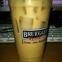 Photo taken at Bruegger's by Ben T. on 4/2/2012