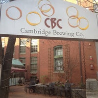 Photo taken at Cambridge Brewing Company by Edgar R. on 3/10/2012