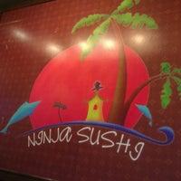Photo taken at Ninja Sushi by Jordan T. on 9/4/2012