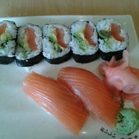 Photo taken at Oishi Sushi by Dianne M. on 7/20/2012