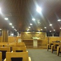 Photo taken at Sinagoga da Hebraica by Jose Luiz G. on 6/1/2012