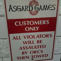 Photo taken at Asgard Games by Ann B. on 4/28/2012