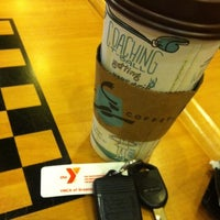 Photo taken at Caribou Coffee by stephen on 4/19/2012