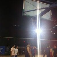 Photo taken at Jianwai SOHO Basketball Court by Hugh X. on 5/16/2012