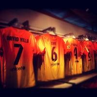 Photo taken at Museu Futbol Club Barcelona by Vadim S. on 9/5/2012