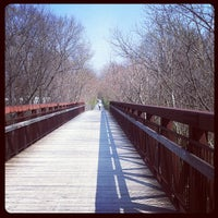 Photo taken at Capital Crescent Trail - Bethesda by Alexander H. on 3/17/2012