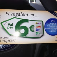 Photo taken at E.S. Tarragona Repsol by Joanna on 7/3/2012