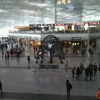 Photo taken at Beijing Capital International Airport (PEK) by Oleg D. on 4/6/2012