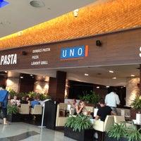 Photo taken at Uno Mediterranean Restaurant & Bar by Anne Marie J. on 7/1/2012