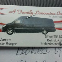 Photo taken at Afamily Limousine by Heartz T. on 8/1/2012