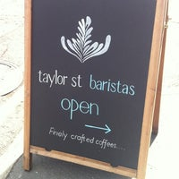 Photo taken at Taylor St Baristas by Marc on 4/4/2012