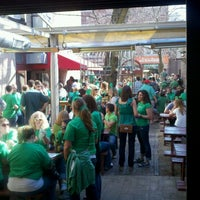 Photo taken at Sheffield's Beer & Wine Garden by Gregory H. on 3/17/2012