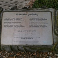 Photo taken at Waterwise Garden Southern Water by Mark H. on 4/8/2012