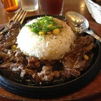 Photo taken at The Sizzlin' Pepper Steak by Melai F. on 4/23/2012