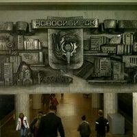 Снимок сделан в Метро «Сибирская» пользователем Yuriy V. 8/26/2012