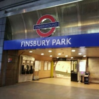 Photo taken at Finsbury Park Railway Station (FPK) by Pauline C. on 6/16/2012