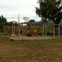 Photo taken at Byron Sesquicentennial Park by Kim K. on 8/8/2012