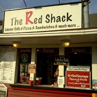 Photo taken at The Red Shack by Jose C. on 8/14/2012