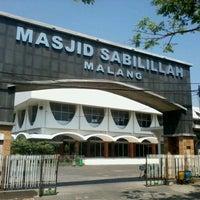 Photo taken at Masjid Sabilillah by Arifudin M. on 9/2/2012
