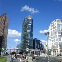 Photo taken at Potsdamer Platz by Francesco C. on 8/12/2012