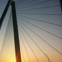 Photo taken at Arthur Ravenel Jr. Bridge by Megan V. on 6/19/2012