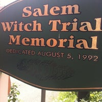 Photo taken at Salem Witch Trials Memorial by Kenneth L. on 6/24/2012