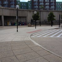 Photo taken at Wheaton Metro Station by Brittany D. on 4/27/2012