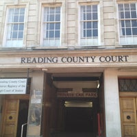 Photo taken at Reading County Court by Philippa R. on 4/20/2012