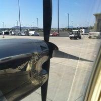 Photo taken at Roberts Field-Redmond Municipal Airport (RDM) by Gigi P. on 5/6/2012