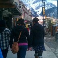 Photo taken at Banff National Park by Lelia P. on 4/1/2012