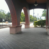 Photo taken at Metra - Roselle by Erin O. on 7/23/2012