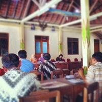 Photo taken at Balai Desa Ponjong by Nurudin J. on 4/25/2012