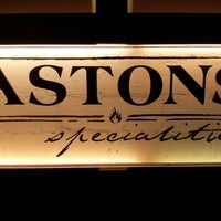 Photo taken at Astons Specialities by KelvinTBH on 7/22/2012