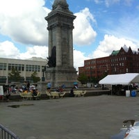 Photo taken at Clinton Square by Tony A. on 7/28/2012