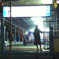 Photo taken at Nikhom Muay Thai Virapol GYM by noi m. on 2/21/2012
