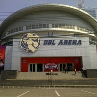 Photo taken at DBL Arena by najiberlangga on 6/30/2012