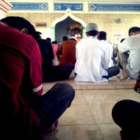Photo taken at Masjid Jami' Al-Ikhlas by Halim I. on 4/13/2012