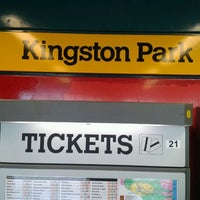 Photo taken at Kingston Park Metro Station by Marco D. on 5/1/2012