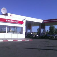 Photo taken at Лукойл by Юра K. on 7/25/2012