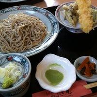 Photo taken at やぶき庵 by Hiroyasu K. on 7/4/2012