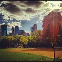 Photo taken at Heckscher Field by Nicole M. on 9/10/2012