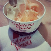 Photo taken at Gelateria Veneta by Jean-Louis V. on 6/2/2012