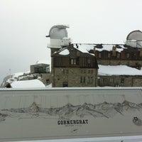 Photo taken at Gornergrat by Jan S. on 4/29/2012