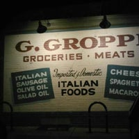 Photo taken at G. Groppi Food Market by senator d. on 2/7/2012