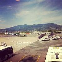 "Photo taken at Aeroporto di Firenze ""Amerigo Vespucci"" (FLR) by Matteo T. on 6/24/2012"