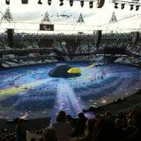 Photo taken at London Stadium by David John S. on 8/29/2012