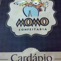 Photo taken at Momo Confeitaria by Felipe L. on 9/8/2012