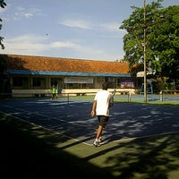 Photo taken at Lap. Tennis by yanto a. on 5/4/2012