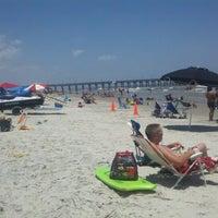 Photo taken at Tybee Island by Jennifer B. on 7/9/2012