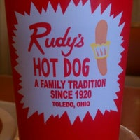 Photo taken at Rudy's Hot Dog by RaeAnn C. on 5/22/2012